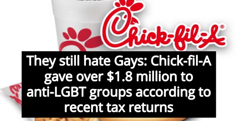 Report: Chick-fil-A Gave Over $1.8 Million To Anti-Gay Christian Hate Groups (Image via YouTube)