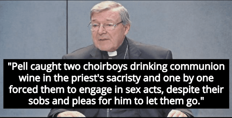 Cardinal George Pell Sentenced To 6 Years For Sexually Abusing Choir Boys (Image via Screen Grab)