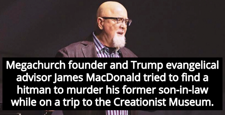 Report: Megachurch Pastor James MacDonald Tried To Hire Hitman To Kill Son-In-Law (Image via Facebook)