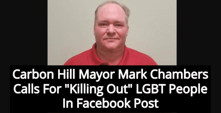 Alabama Mayor Mark Chambers Calls For Killing LGBT People In Facebook Post (Image via Facebook)