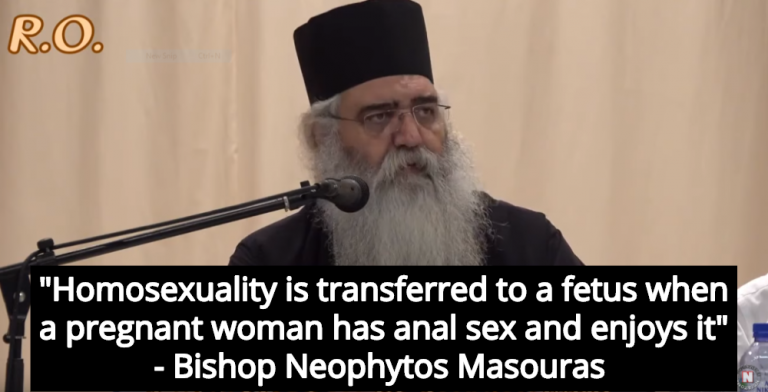 Christian Bishop Claims Gays Are The Product Of Pregnant Women Enjoying Anal Sex (Image via Screen Grab)