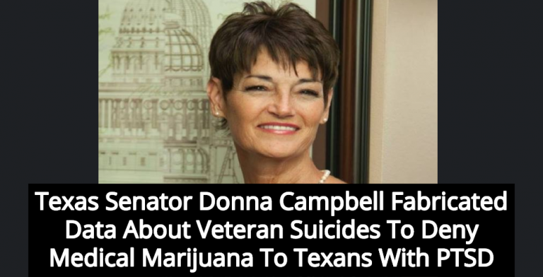 Christian Lawmaker Fabricates Study To Deny Medical Marijuana For PTSD Survivors (Image via Facebook)