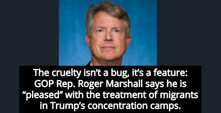 GOP Congressman 'Pleased' With Treatment Of Migrants In Trump's Concentration Camps (Image via Wikipedia)