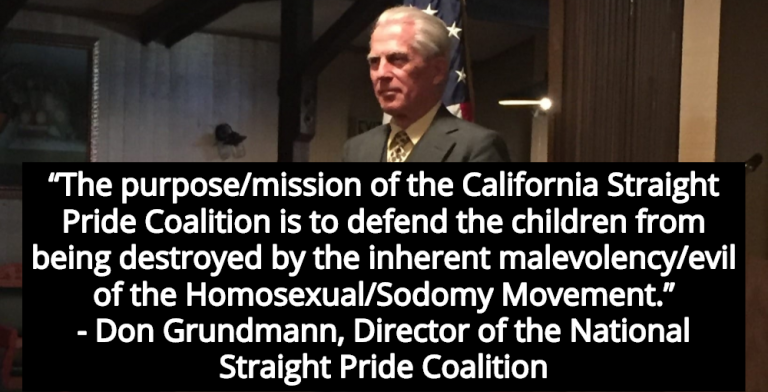 Christian White Nationalists Plan Straight Pride Parade In California (Image via Facebook)