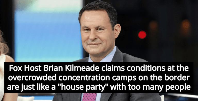 Fox Host Kilmeade Compares Trump's Concentration Camps To 'House Party' (Image via YouTube)