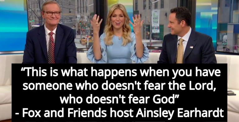 Fox Host: Mass Shootings Happen When Someone 'Doesn't Fear The Lord' (Image via Screen Grab)