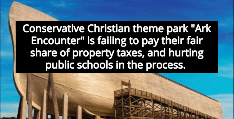 Report: Ark Encounter Cheating On Property Taxes, Hurting Local Schools (Image via YouTube)