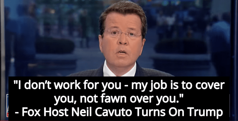 Fox Host Neil Cavuto Turns On Trump: 'I Don't Work For You' (Image via Screen Grab)