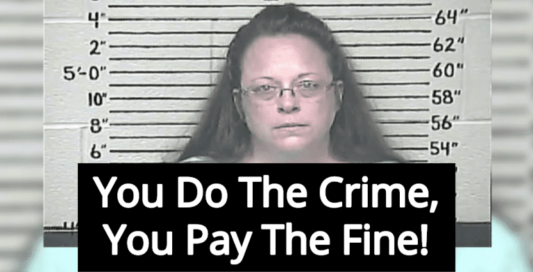 Federal Court Rules Anti-Gay County Clerk Kim Davis Must Pay $224,000 (Image via Twitter)