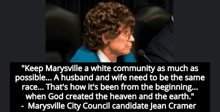 Michigan City Council Candidate Campaigns On Keeping Community 'White'  (Image via Twitter)