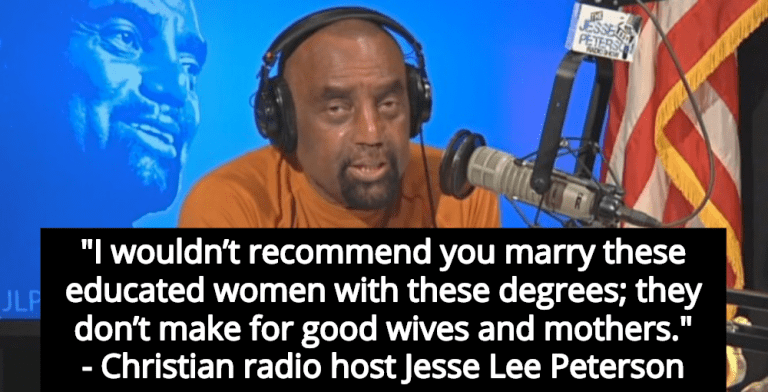 Christian Radio Host: 'Educated Women Don't Make For Good Wives And Mothers' (Image via Screen Grab)