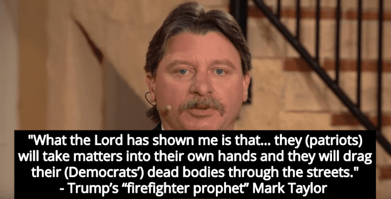 Trump's 'Firefighter Prophet' Claims 'Patriots' Will Assassinate High-Profile Democrats (Image via YouTube)