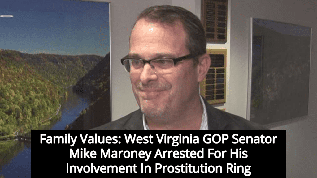 WV GOP Senator Mike Maroney Arrested As Part Of Prostitution Ring (Image via YouTube)