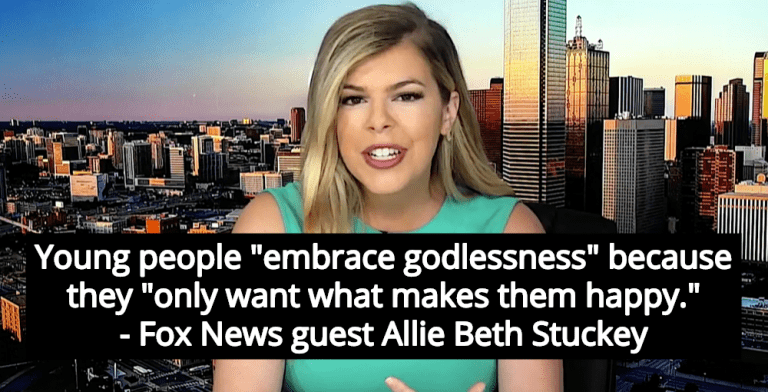 Fox News Guest Attacks 'Godless' Millennials For Having Dogs And Not Kids (Image via Screen Grab)
