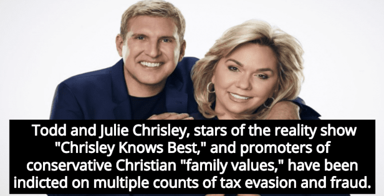 Christian Reality Stars Todd And Julie Chrisley Indicted For Tax Evasion, Fraud (Image via Twitter)