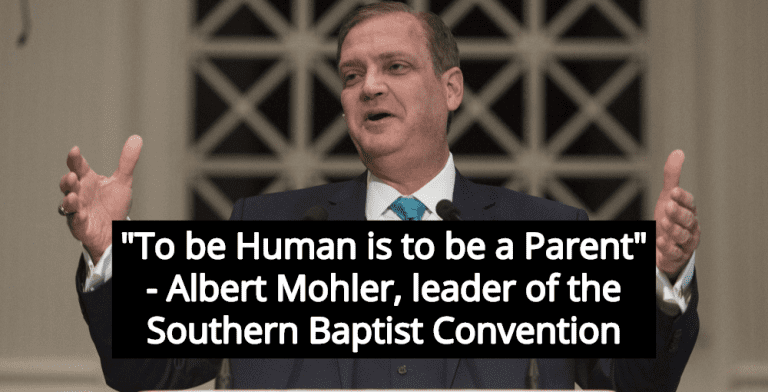 Southern Baptist Leader Claims You Must Have Children 'To Be Human' (Image via Twitter)