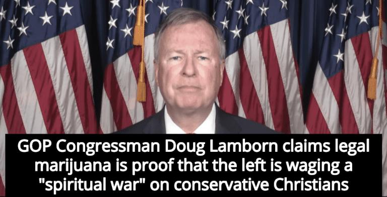 Colorado Congressman: Legal Marijuauna Is Evidence Of 'Spiritual War' Against Christians