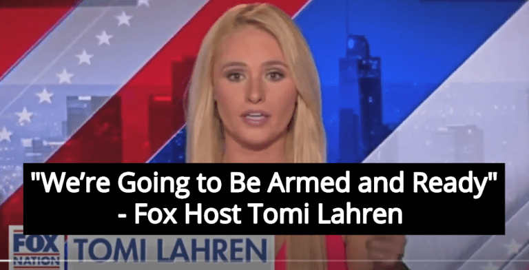 Fox Host Tomi Lahren: We Need Guns To Shoot Immigrants (Image via Screen Grab)