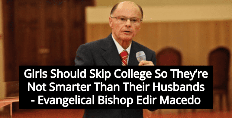 Bishop: Daughters Should Be Uneducated So They're Not Smarter Than Husbands (Image via Screen Grab)