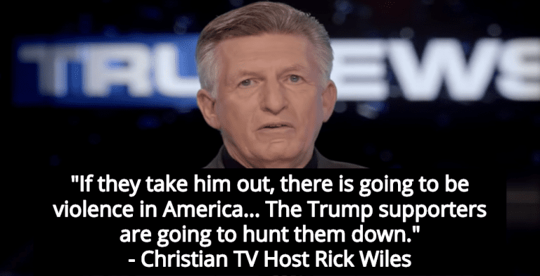 Christian TV Host: 'There Is Going to Be Violence' If Trump Is Removed From Office (Image via Screen Grab)