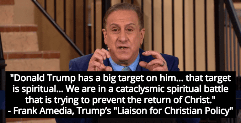 Christian Prophet: If You Oppose Trump You Are Preventing 'The Return Of Christ' (Image via Screen Grab)