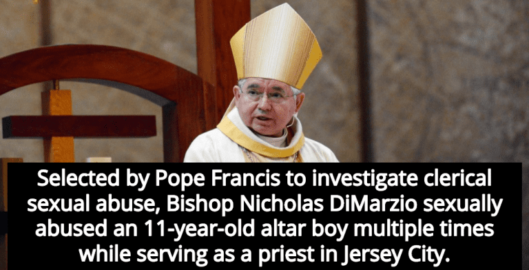 Report: Bishop Selected By Pope To Investigate Sexual Abuse Molested Alter Boy (Image via Screen Grab)