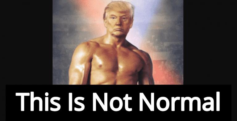 Delusional Trump Tweets Photo Of Himself As Rocky Balboa (Image via Twitter)