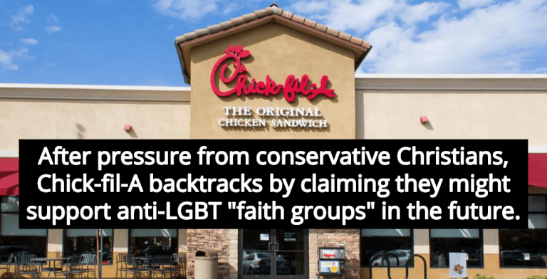 Chick-fil-A Flip-Flops, Won't Rule Out Supporting Anti-LGBT Christian Charities (Image via YouTube)