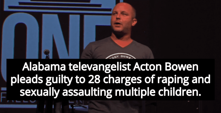 Televangelist Acton Bowen Pleads Guilty To Sexually Abusing Multiple Children