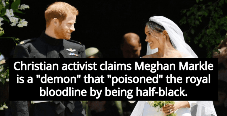 Christian Activist Claims Meghan Markle 'Poisoned' Royal Bloodline By Being Half-Black (Image via YouTube)