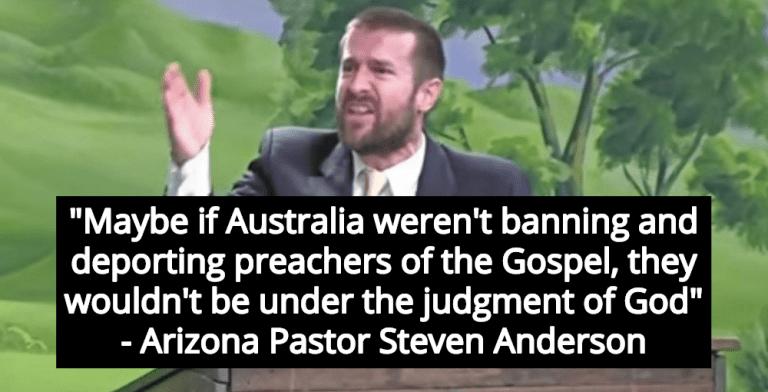 Arizona Pastor: 'God's Judgement' Responsible For Australian Wildfires (Image via YouTube)