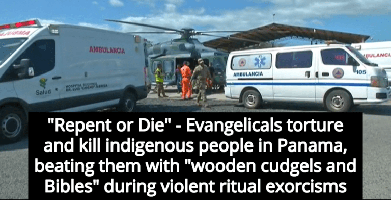 10 Evangelicals Arrested After Killing 7 During Violent Exorcism Rituals In Panama (Image via Screen Grab)
