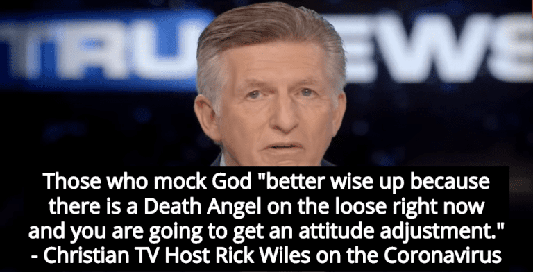 Christian TV Host: Coronavirus Sent To Punish Those Who Mock God (Image via Screen Grab)