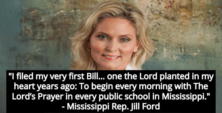 Mississippi Law Would Mandate Christian Prayer In Public Schools (Image via Facebook)