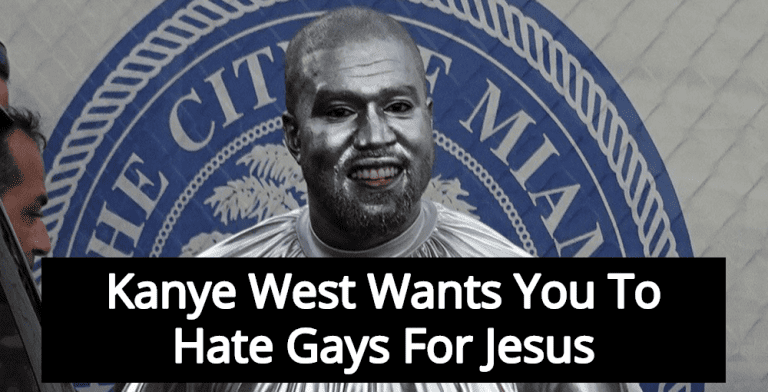 Kanye West To Headline Anti-Gay Conservative Christian Prayer Rally (Image via Screen Grab)