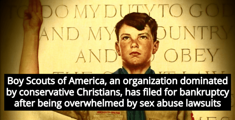 Boy Scouts Of America Banned Atheists But Protected Pedophiles (Image via YouTube)