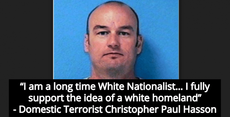 Coast Guard Officer Gets 13 Years For Terrorist Plot To Establish 'White Homeland' (Image via Screen Grab)