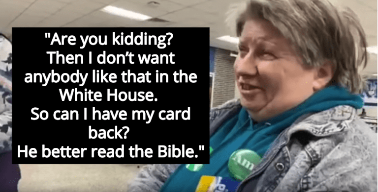 Christian Woman Who Voted For Buttigieg Panics After Finding Out He's Gay (Image via Screen Grab)