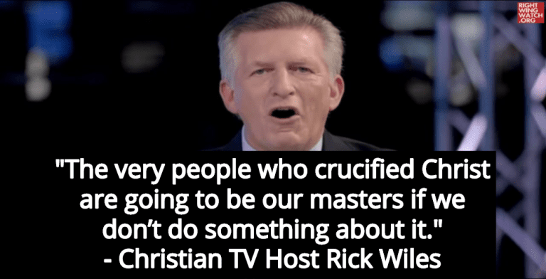 Christian TV Host Rick Wiles: Jews Caused Iowa Caucus Debacle (Image via Screen Grab)