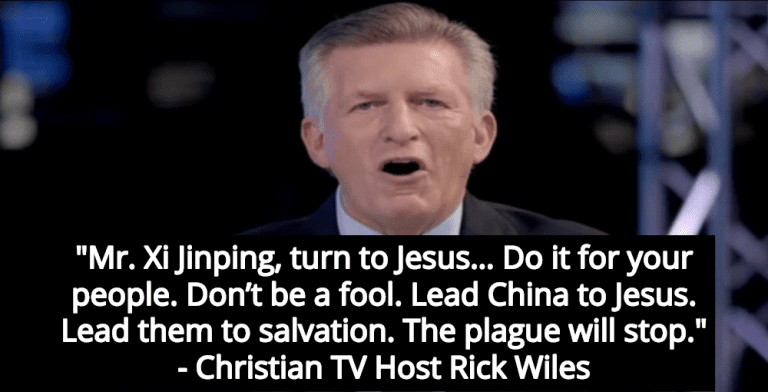 Christian TV Host: Coronavirus Crisis Will End If China Accepts Christ (Image via Screen Grab)