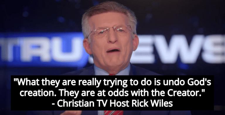 Christian TV Host: Transgender Movement Is Plot To Make Humanity Androgynous (Image via Screen Grab)