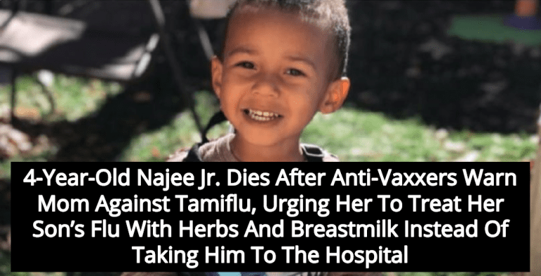 4-Year Old Boy Dies After Mom Takes Advice From Facebook Anti-Vaxxers