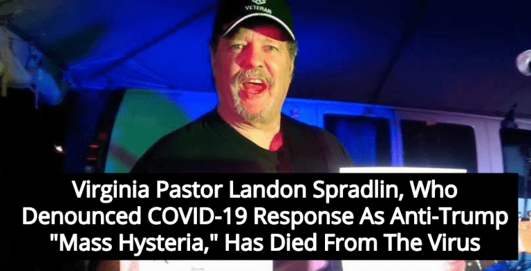 Pastor Who Claimed Covid-19 'Hysteria' Was Plot Against Trump Dies From Virus (Image via Twitter)