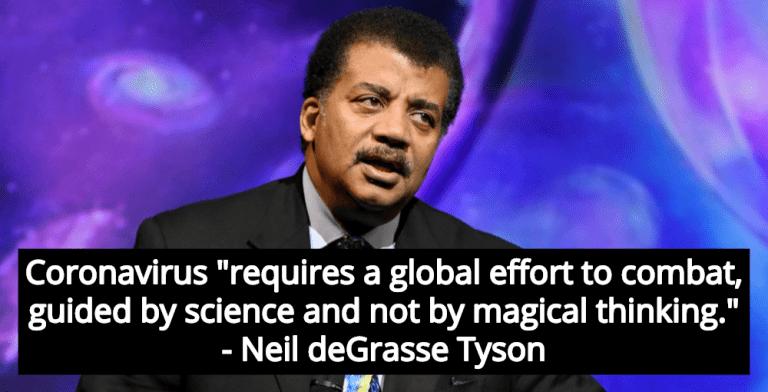 Neil deGrasse Tyson: Coronavirus Crisis Requires Science, Not Magical Thinking (Image via Facebook)