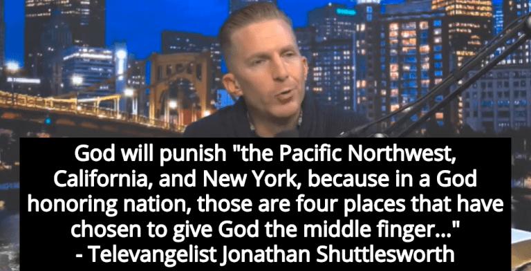 Televangelist Claims God Will Punish Pro-Choice States With Coronavirus (Image via Screen Grab)