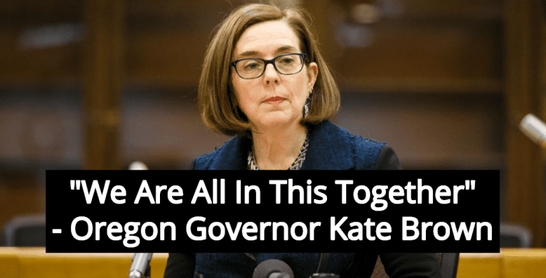 Oregon Governor Kate Brown Sends New York 140 Ventilators (Image via Screen Grab)