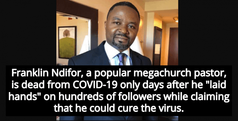 Megachurch Pastor Who Claimed He Could Cure COVID-19 Dies From Virus (Image via Twitter)