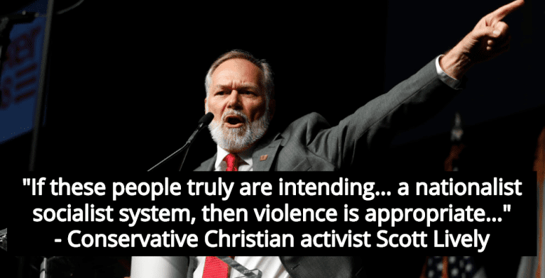 Christian Activist Calls For Violence Against Those Who Use Pandemic To Impose Socialism (Image via YouTube)