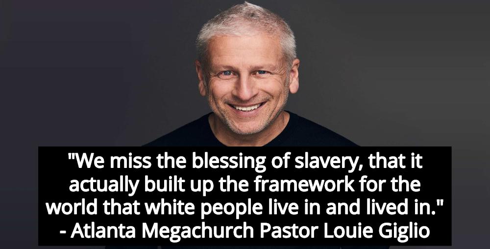 Atlanta Megachurch Pastor Calls Slavery 'Blessing' - Divine Gift For White People (Image via Facebook)