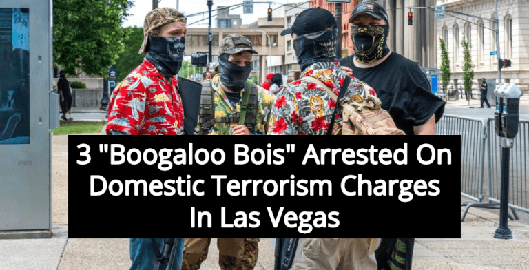 3 Boogaloo Bois Arrested On Domestic Terrorism Charges In Las Vegas (Image via YouTube)